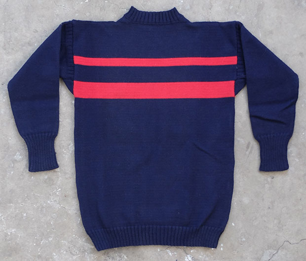 Red And Blue Striped Guernsey (00005)