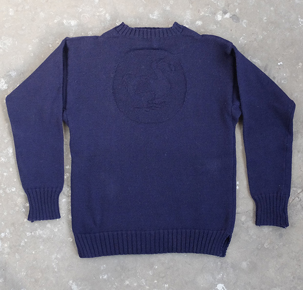 Navy Blue Dodo Knit Guernsey (00007)