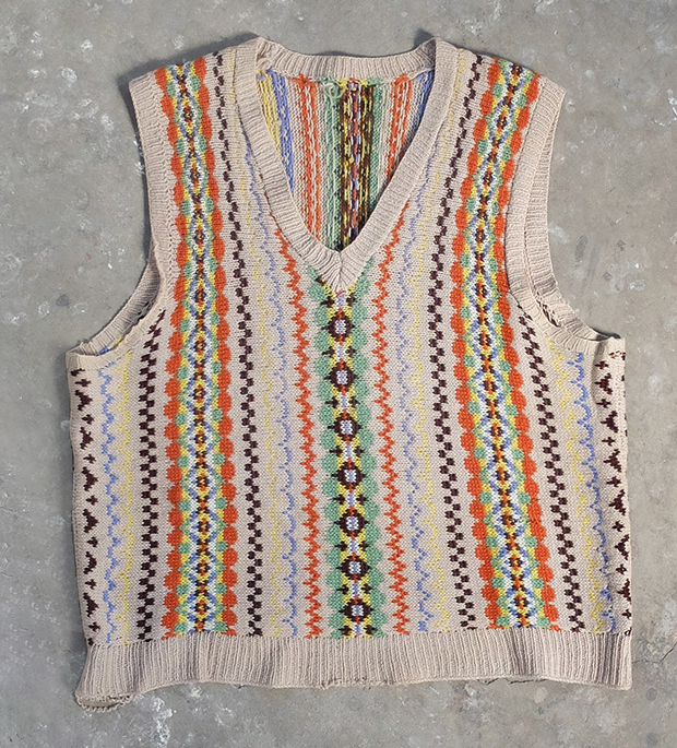 1940s Fairisle Tank Top (00045)