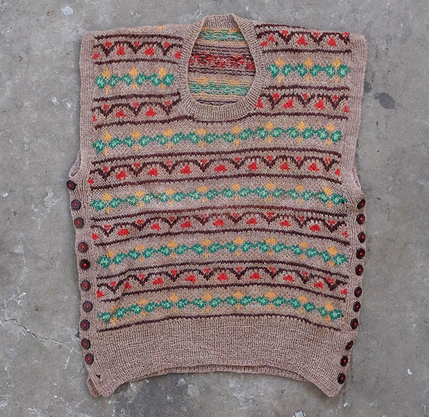 1940s Fairisle Tank Top (00056)