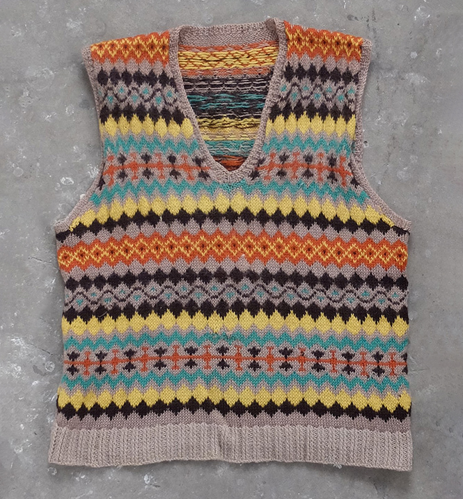 1940s Fairisle Tank Top (00062)