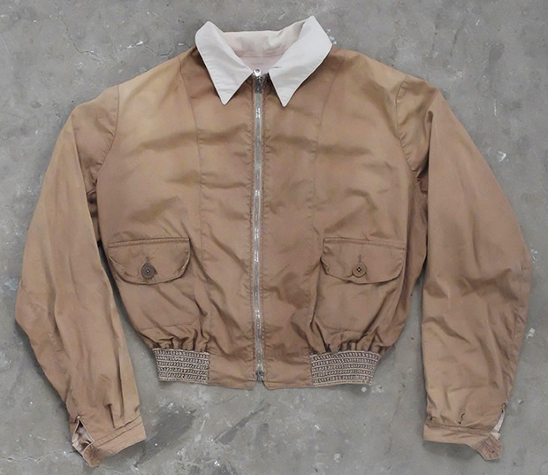 1930s English Lightweight Bomber Sports Jacket (00197)