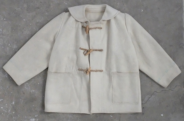 1940s White Royal Navy Duffle Coat (00561)