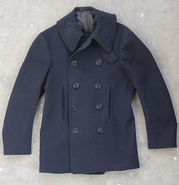 10 Button US Navy Pea Coat