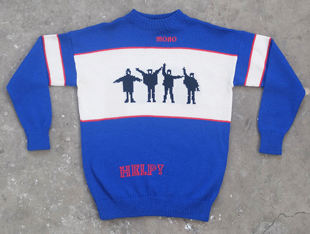 1970s Handknit Beatles  Jumper (01082)