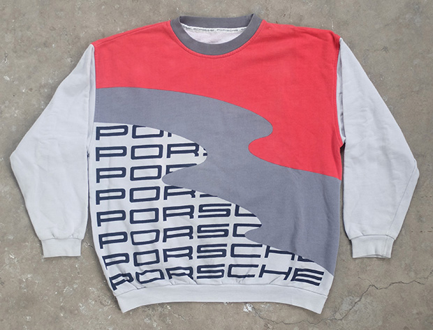 1980s Porsche Fashion Sweatshirt (01187)