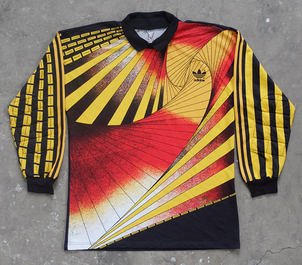 1980s Graphic Adidas Goalkeeper Top (01235)
