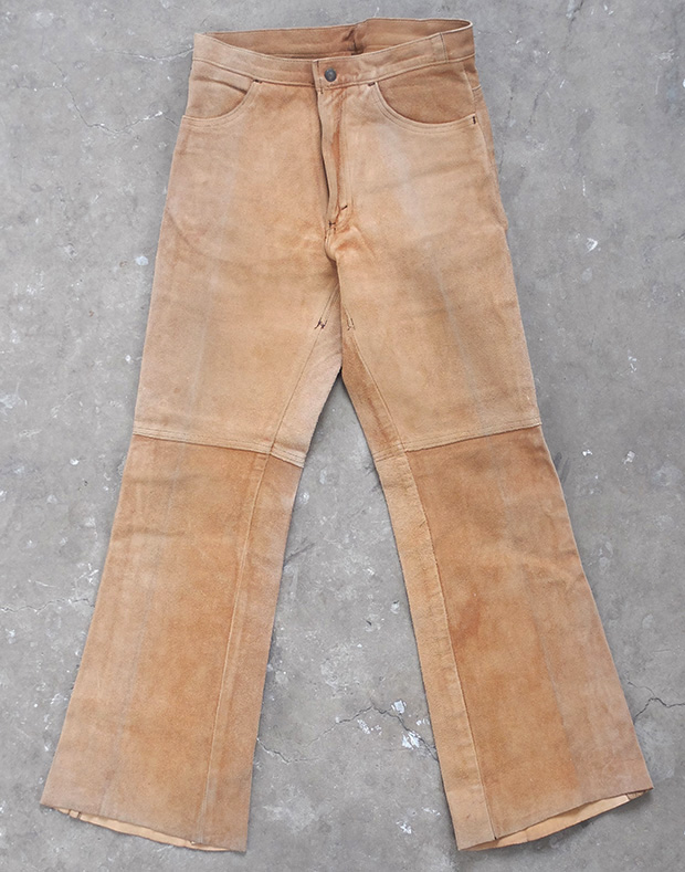 1960s Levis Suede Bootcut Flares (01447)