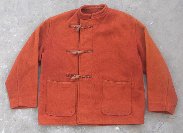 WW2 British Military Overdyed Wool Duffle Coat (01480)