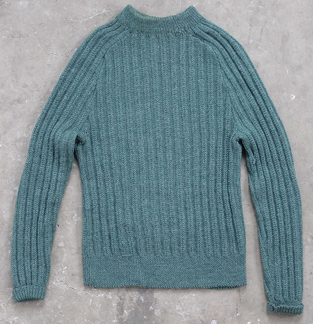 Green Fishermans Handknit (01581)